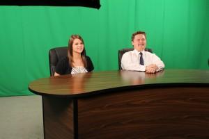 School Green Screen TV Studio