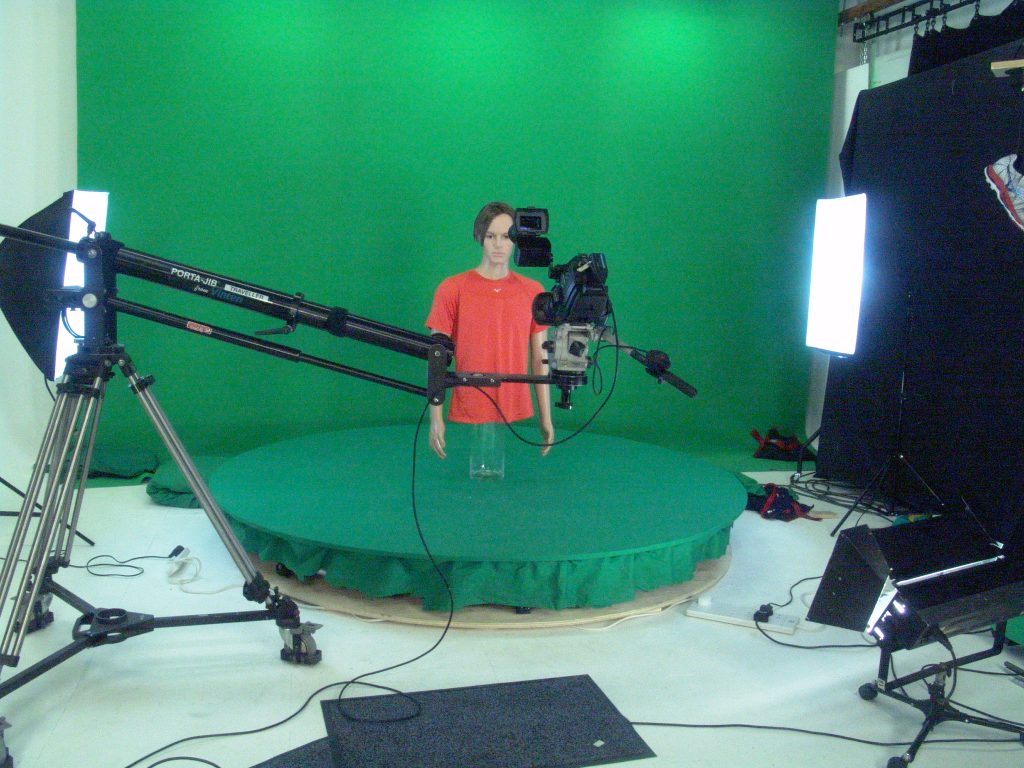 chroma-key green screen foam