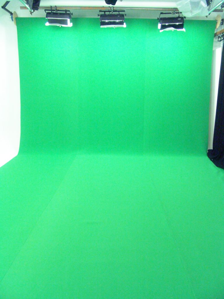 Fleetwod Studios using chroma-key.com green foam